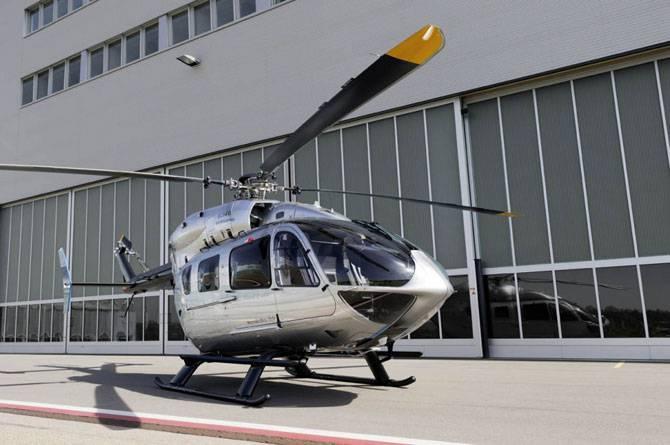 Уникальный вертолет от Mercedes-Benz