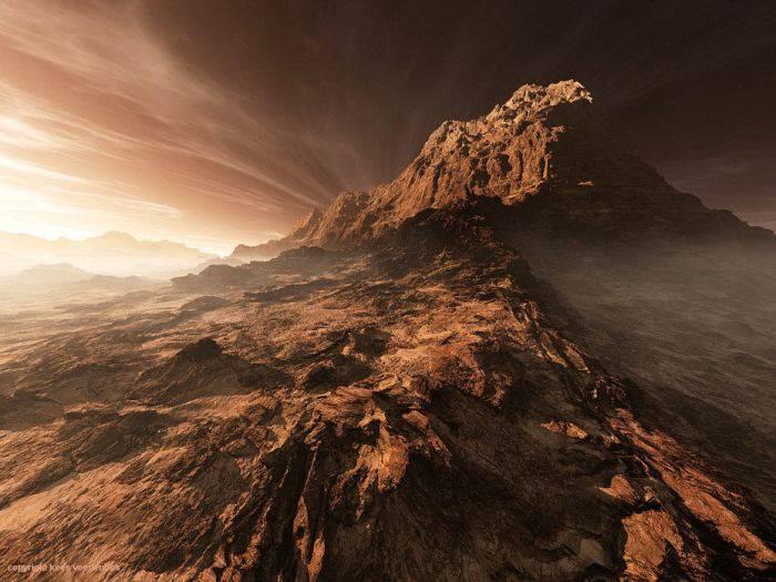 Красивые фотографии Марса (47 фото)