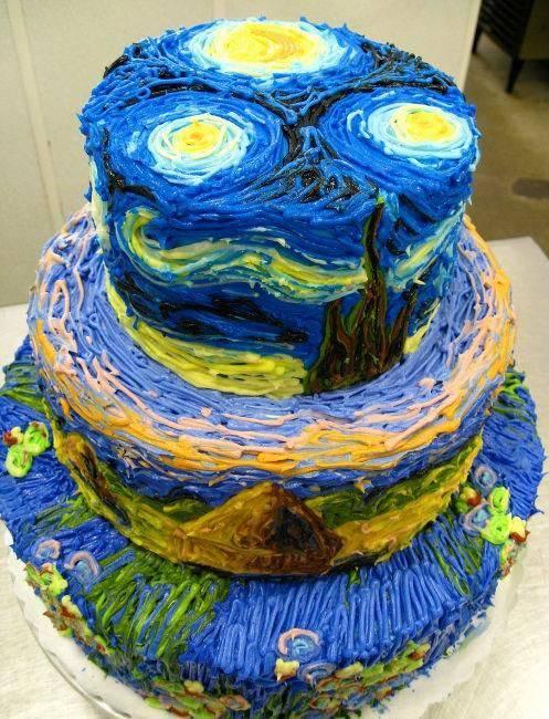 Безумные свадебные торты (9 фото)