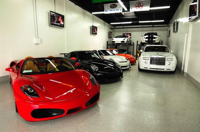 Лучший гараж для любимого автомобиля