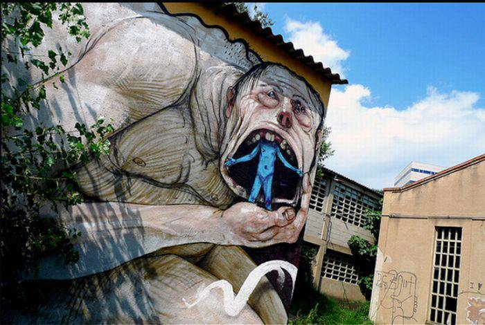 Граффити со всего мира (20 фото)