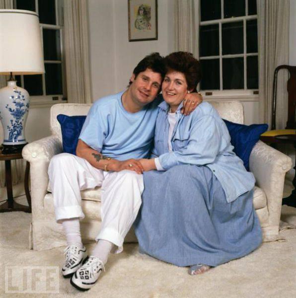 Угадайте, кто эта прекрасный пара? (2 фото)