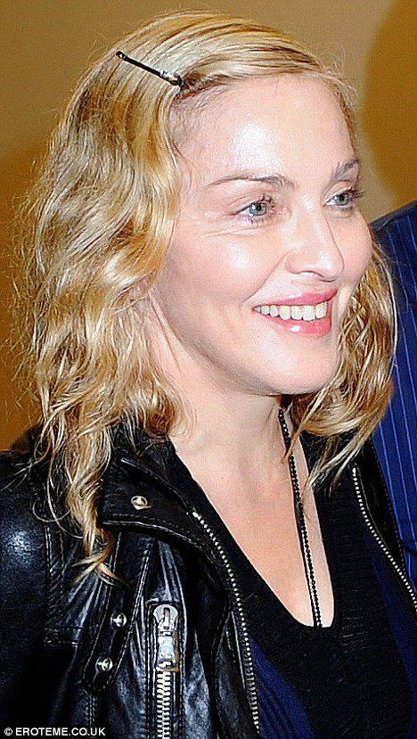 Мадонна без макияжа 4 фото