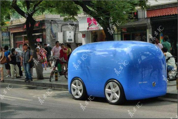 Необычный Volkswagen в Китае