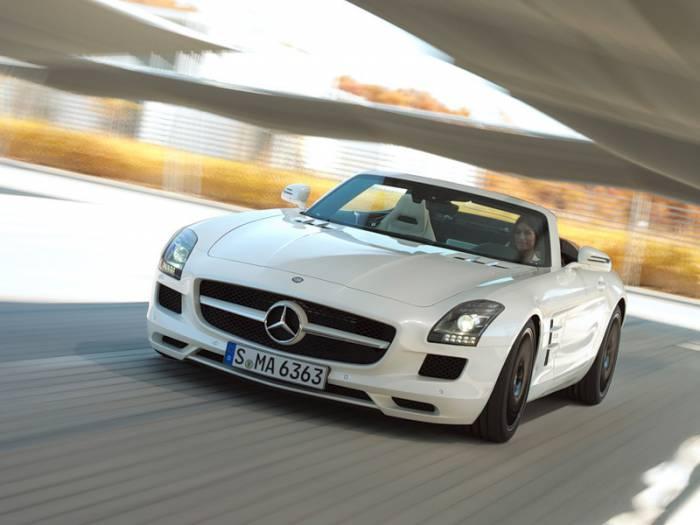 Mercedes-Benz SLS AMG Roadster (22 фото)