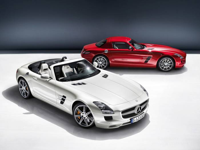 Mercedes-Benz SLS AMG Roadster (22 фото)