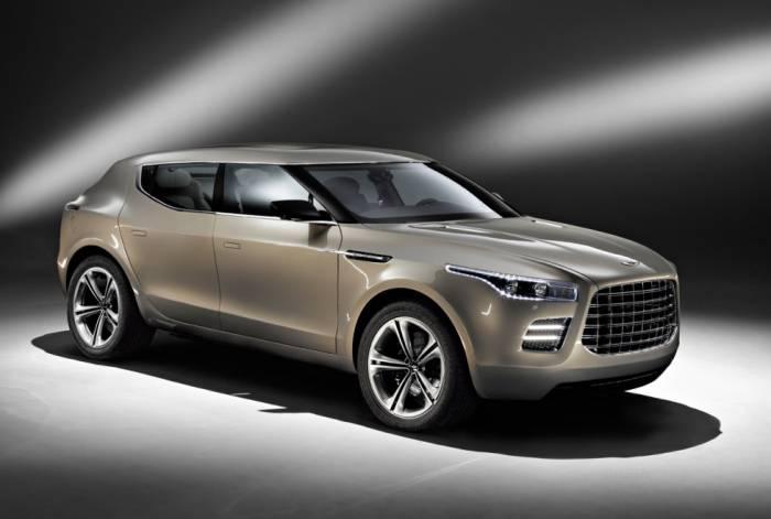 Концепт-кар Aston Martin Lagonda