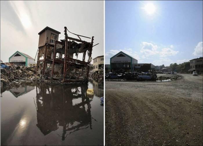 Восстановление Японии после цунами (14 фото)