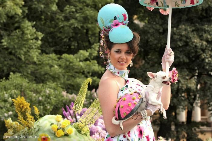 Международный фестиваль цветов в Питере (26 фото)