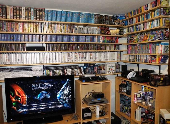 Комната для любителей компьютерных игр (2 фото)