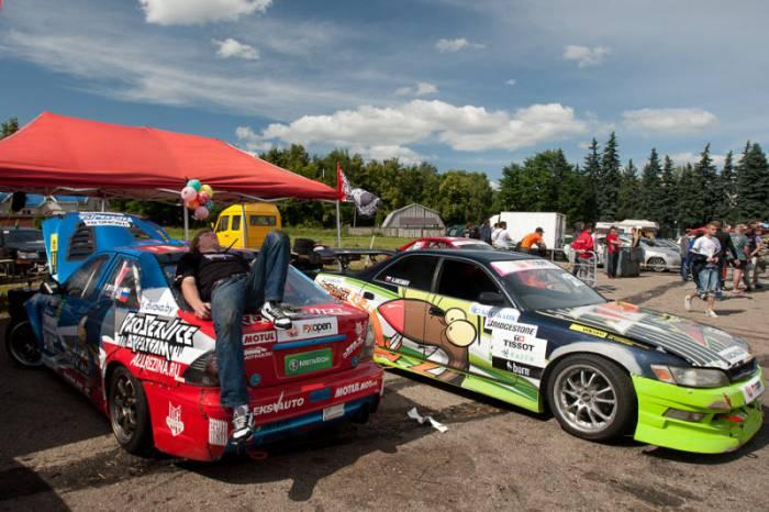 Competições Drift - FXOpen Vagueando Belarus em Minsk, em 2011 (28 fotos)