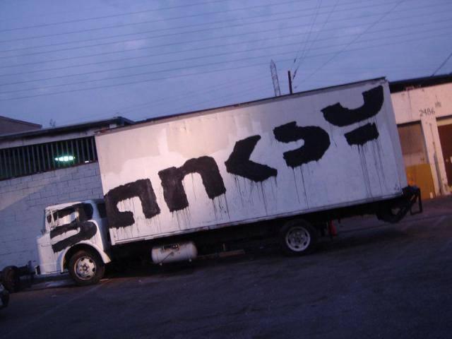 Бэнкси – самый таинственный и скандальный художник-граффитчик
