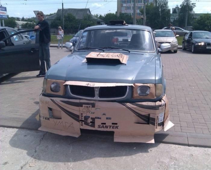 Тюнинг авто по нашему