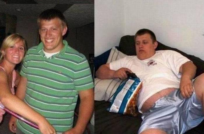 Мужчины до и после женитьбы