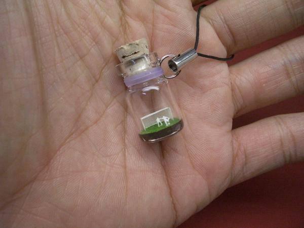 Микро-поделки в бутылке (9 фото)