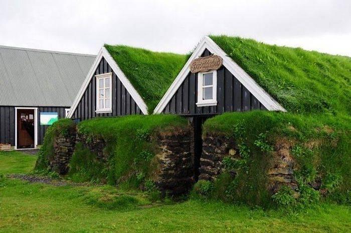 Домики в Исландии