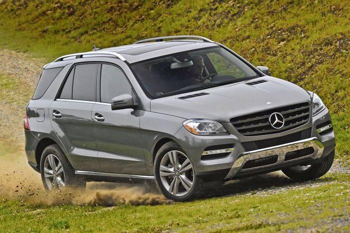 Новый Mercedes-Benz M Class 2012 (51 фото)