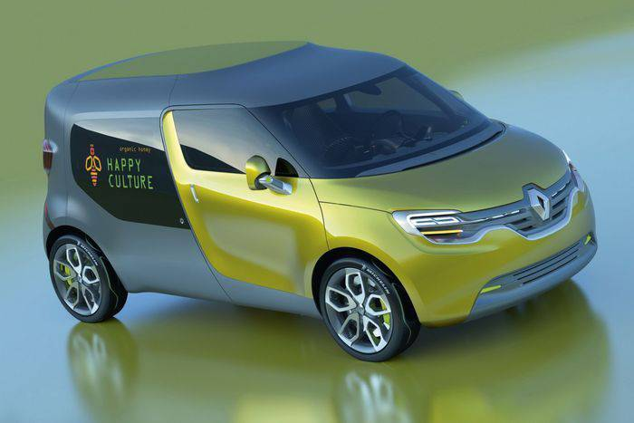 Компания Renault рассекретила концепт-кар Frendzy (12 фото)