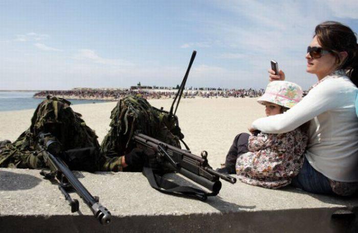 Забавные фото про армейские будни