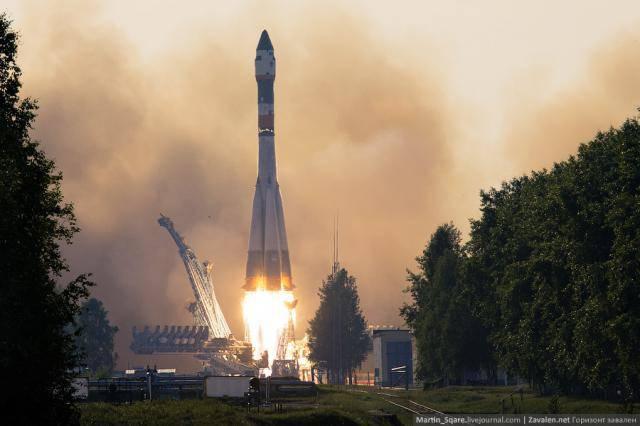 Запуск ракеты Союз-У