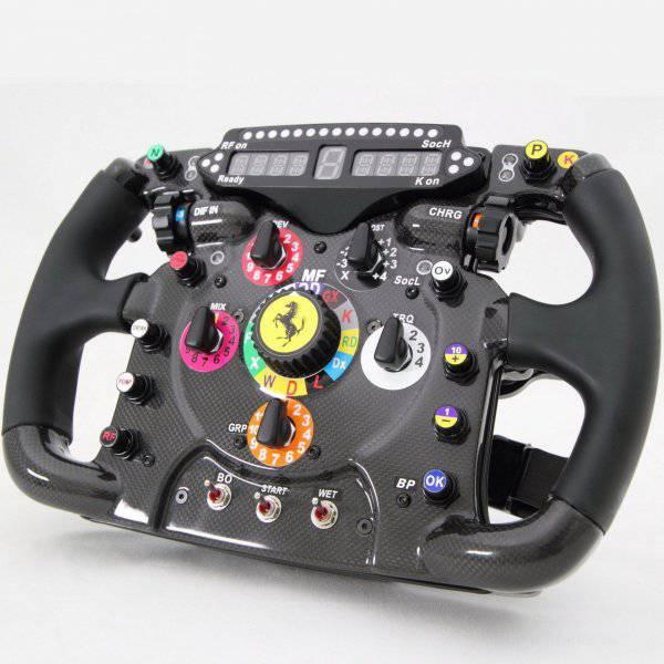 Руль Ferrari (4 фото)