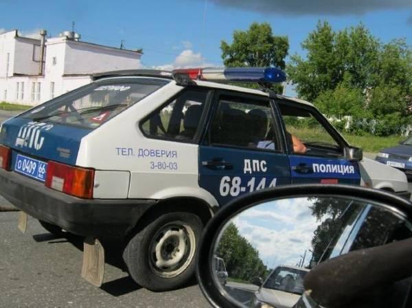 В провинции тоже есть полиция (3 фото)