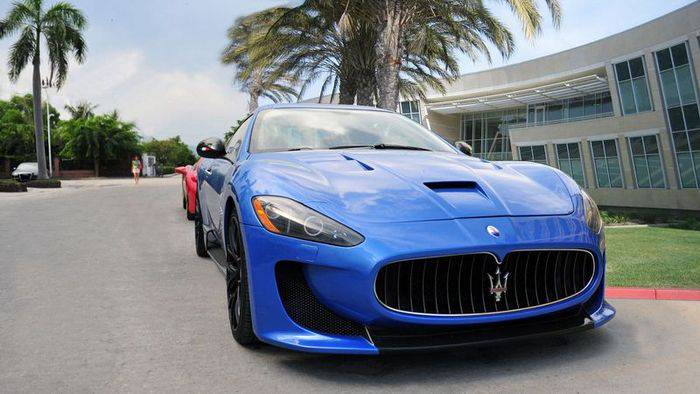 Maserati Gran Turismo (9 фото)