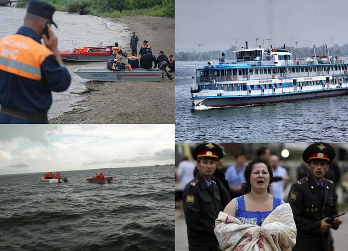 """Страшная трагедия на Волге: затонул теплоход """"Булгария"""" (16 фото)"""