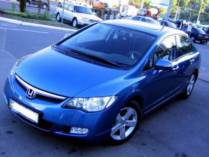 История одной Honda Civic (21 фото)