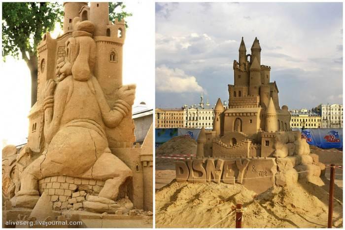 Международный Фестиваль песчаных скульптур в Питере