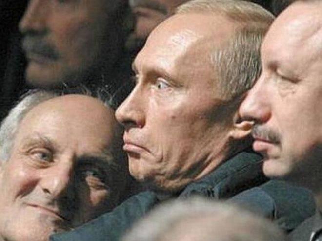 Самые прикольные фото Путина (37 фото)