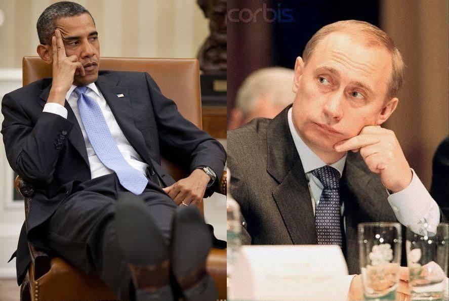 Путин против обамы 12 фото