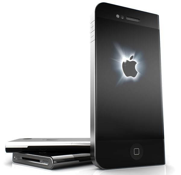 Концептуальный дизайн iPhone5 (3 фото)