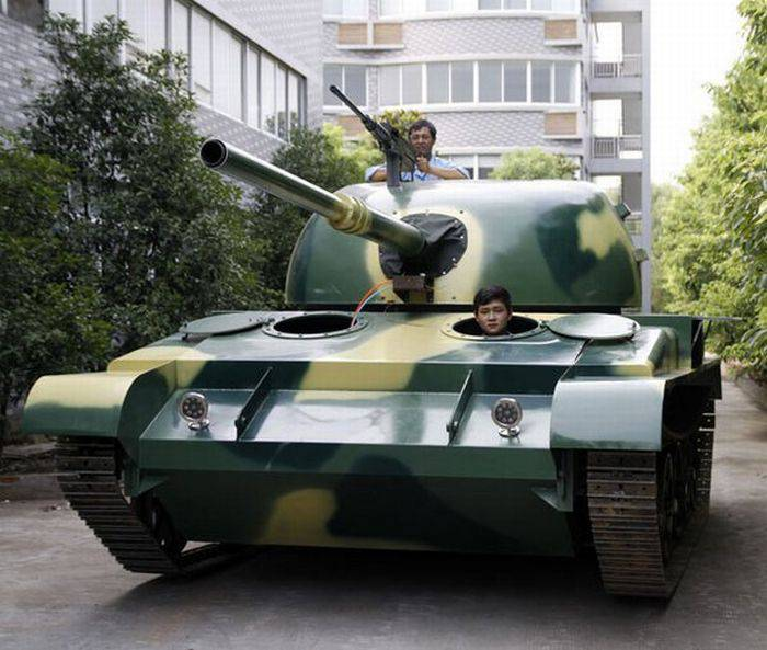 Копия танка Т-62 своими руками (6 фото)