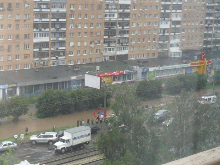 Смерть на российских дорогах (6 фото)