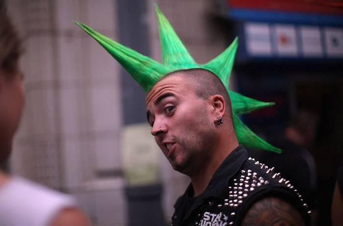 Панк-фестиваль в Англии