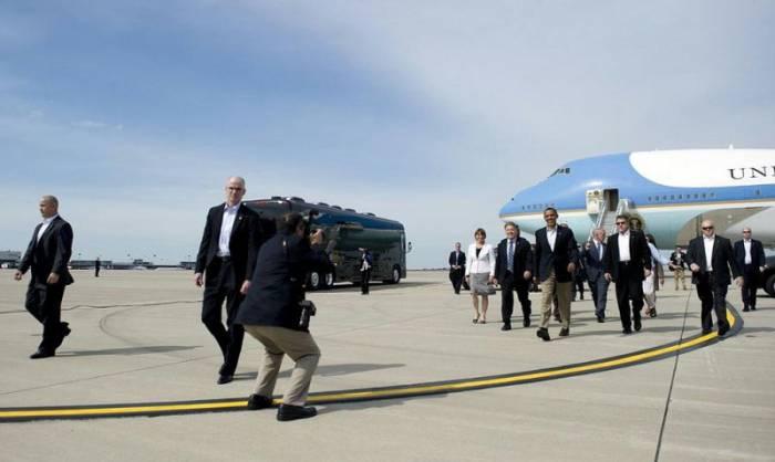Охрана Барака Обамы