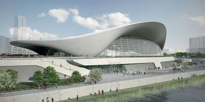 Водный центр для олимпийских игр 2012 в Лондоне