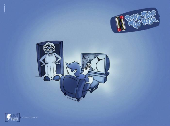 Забавная реклама батареек