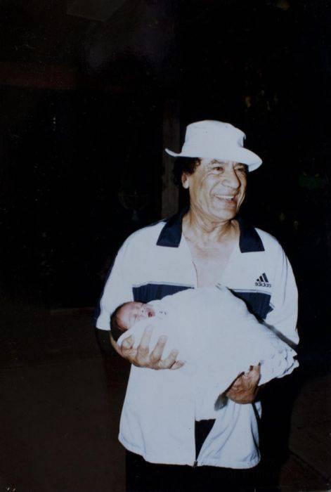Фото из семейного альбома Каддафи