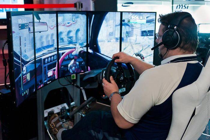 Выставка компьютерных игр
