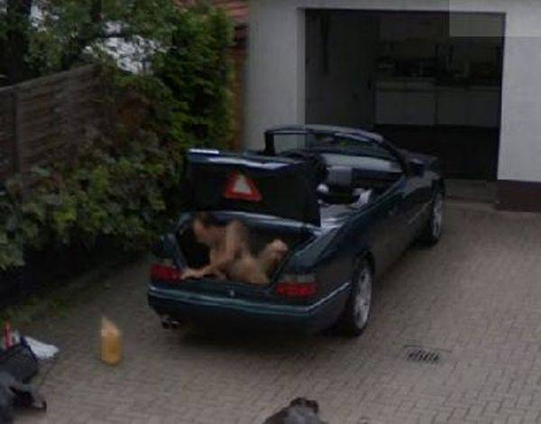 Странные фото с веб-путешествий по Google Street View