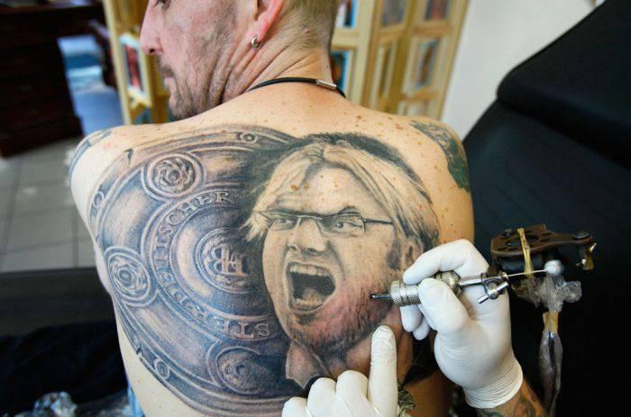 Подборка прикольных татуировок