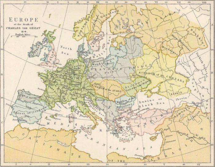 Старинные карты (10 фото)