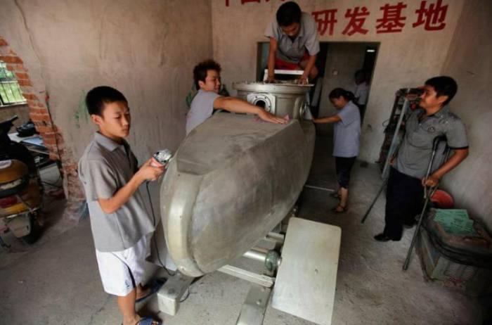Мини-подводная лодка китайского производства