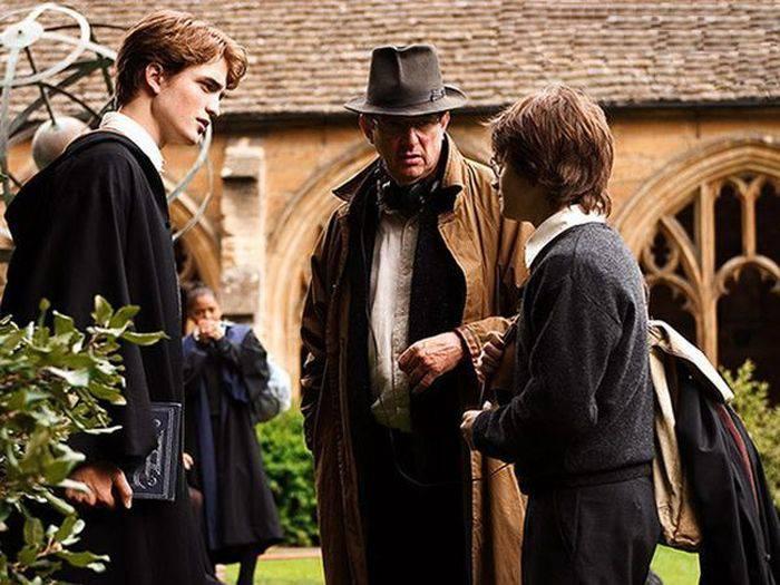 Фото со съемок Гарри Поттера (50 фото)