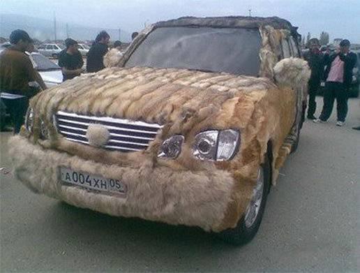 Мохнатый Лексус из Дагестана