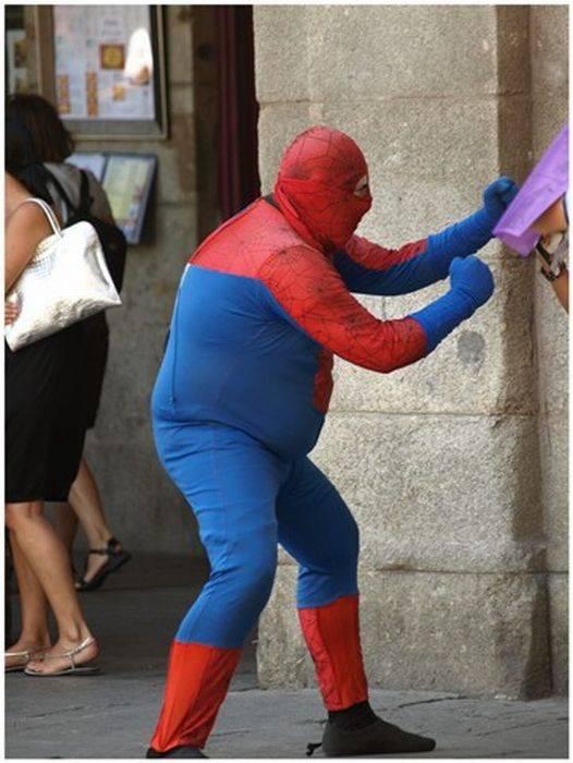Смешные картинки с человека паука, день