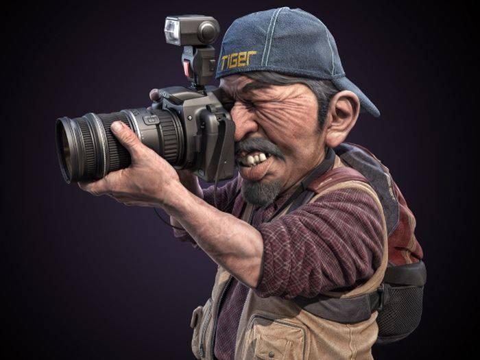 Классные 3D-портреты (25 фото)