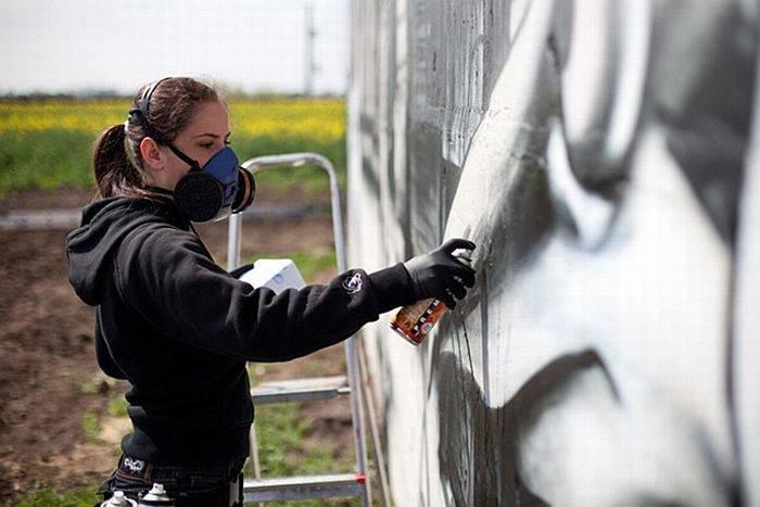 Граффити от Mad C (20 фото)
